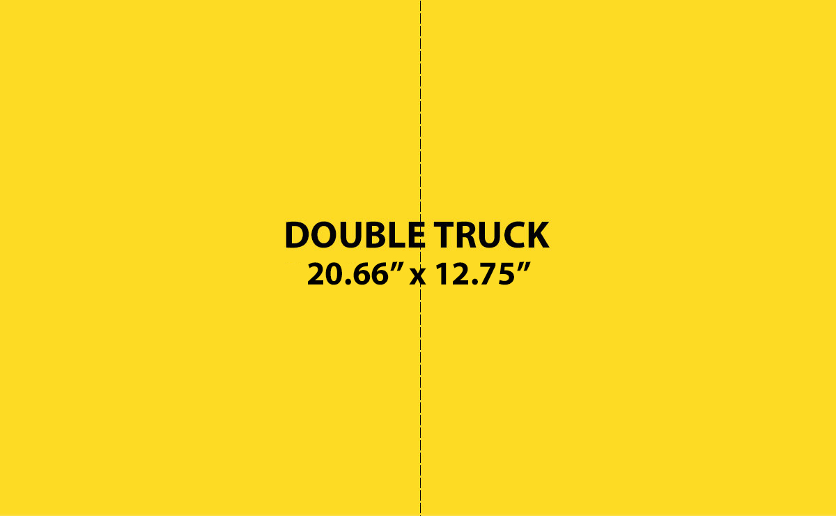 Double Truck Ad